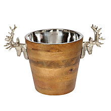 Buy Culinary Concepts Wooden Stag Wine Cooler Online at johnlewis.com
