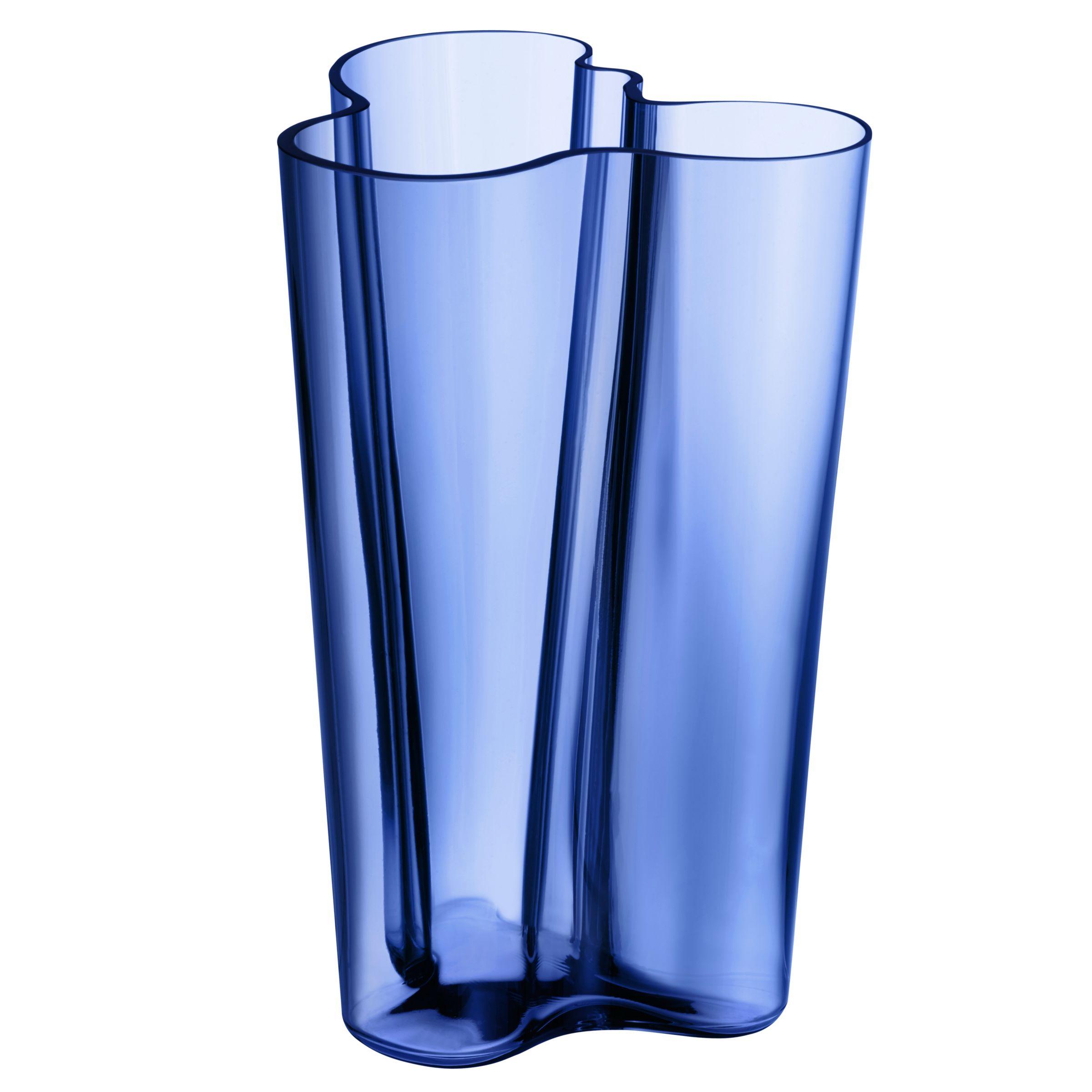 Iittala Iittala Aalto Vase, H25.1cm, Blue