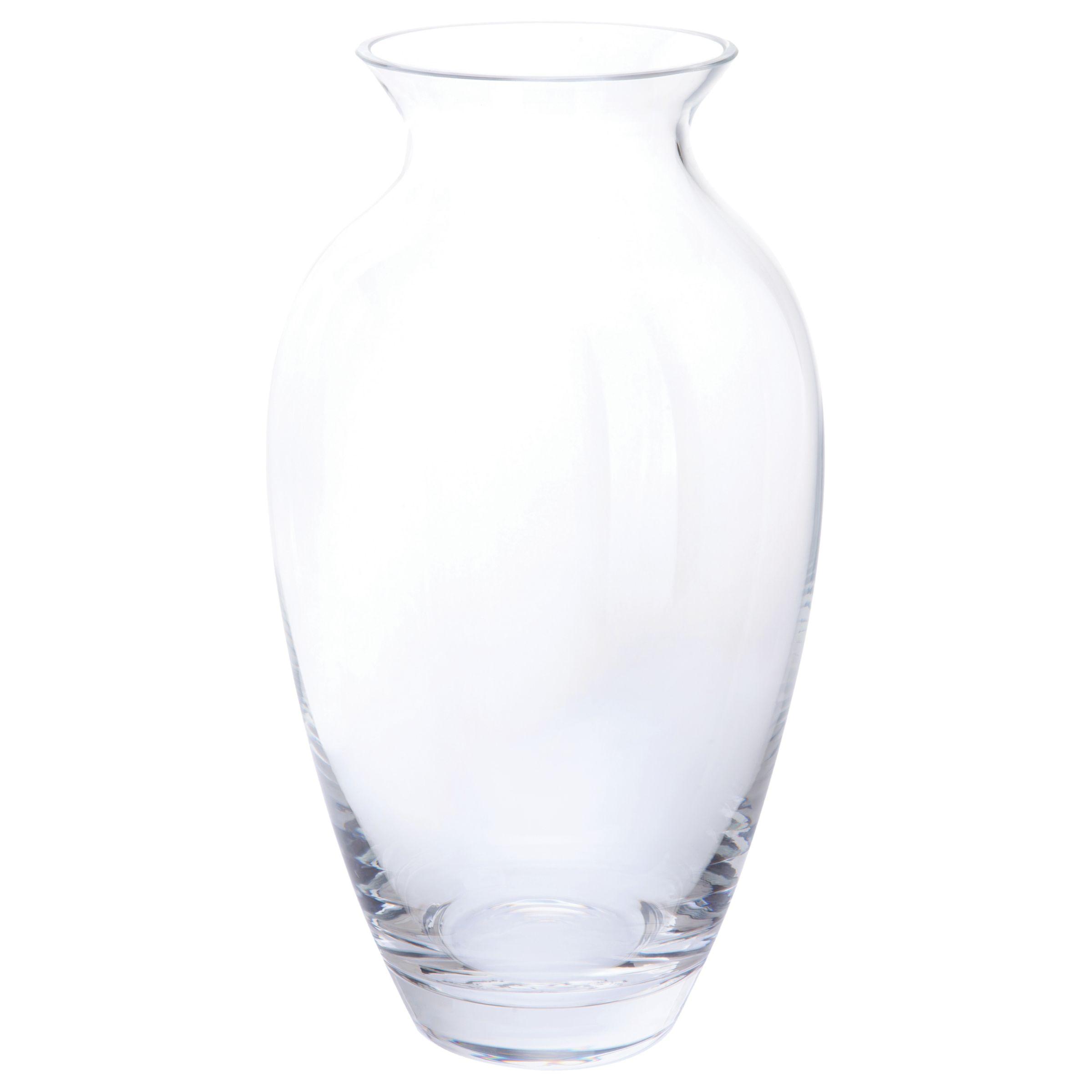 Dartington Crystal Dartington Crystal Tara Medium Vase, Clear