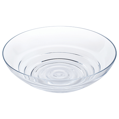 Image of Dartington Crystal Wibble Centrepiece Bowl, Clear