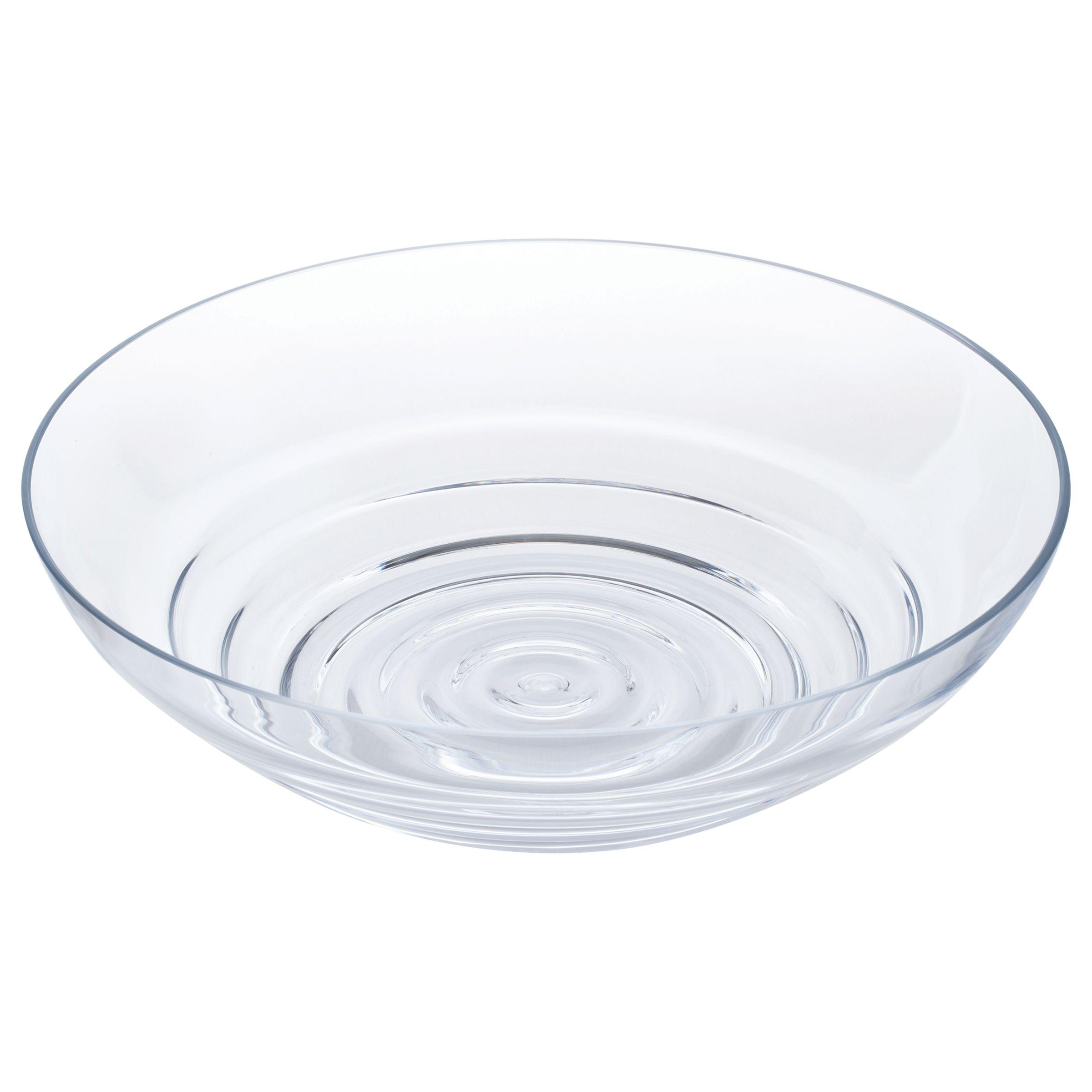 Dartington Crystal Dartington Crystal Wibble Centrepiece Bowl, Clear