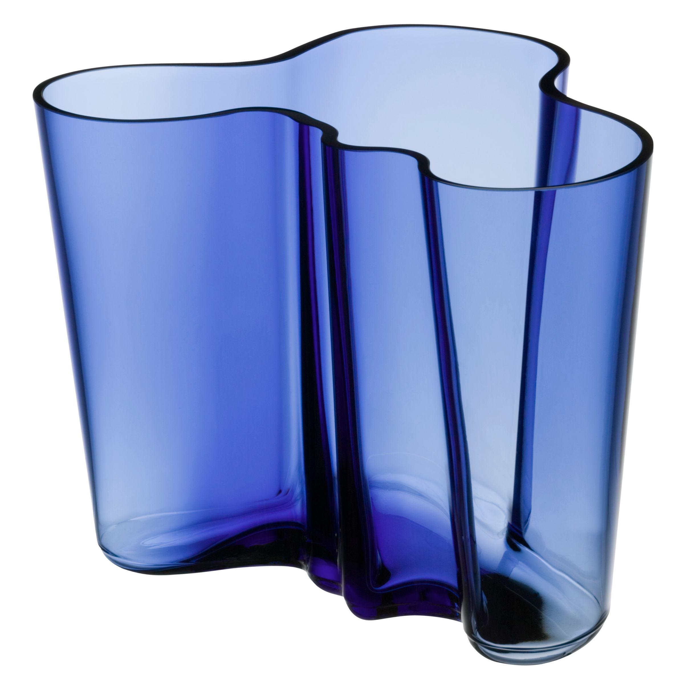 Iittala Iittala Aalto Vase, H16cm, Blue