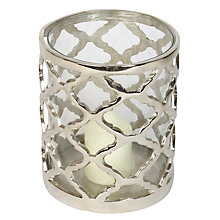 Buy Culinary Concepts Lattice Hurricane Lantern, Medium Online at johnlewis.com