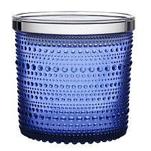 Buy IIttala Kastehelmi Glass Jar Online at johnlewis.com