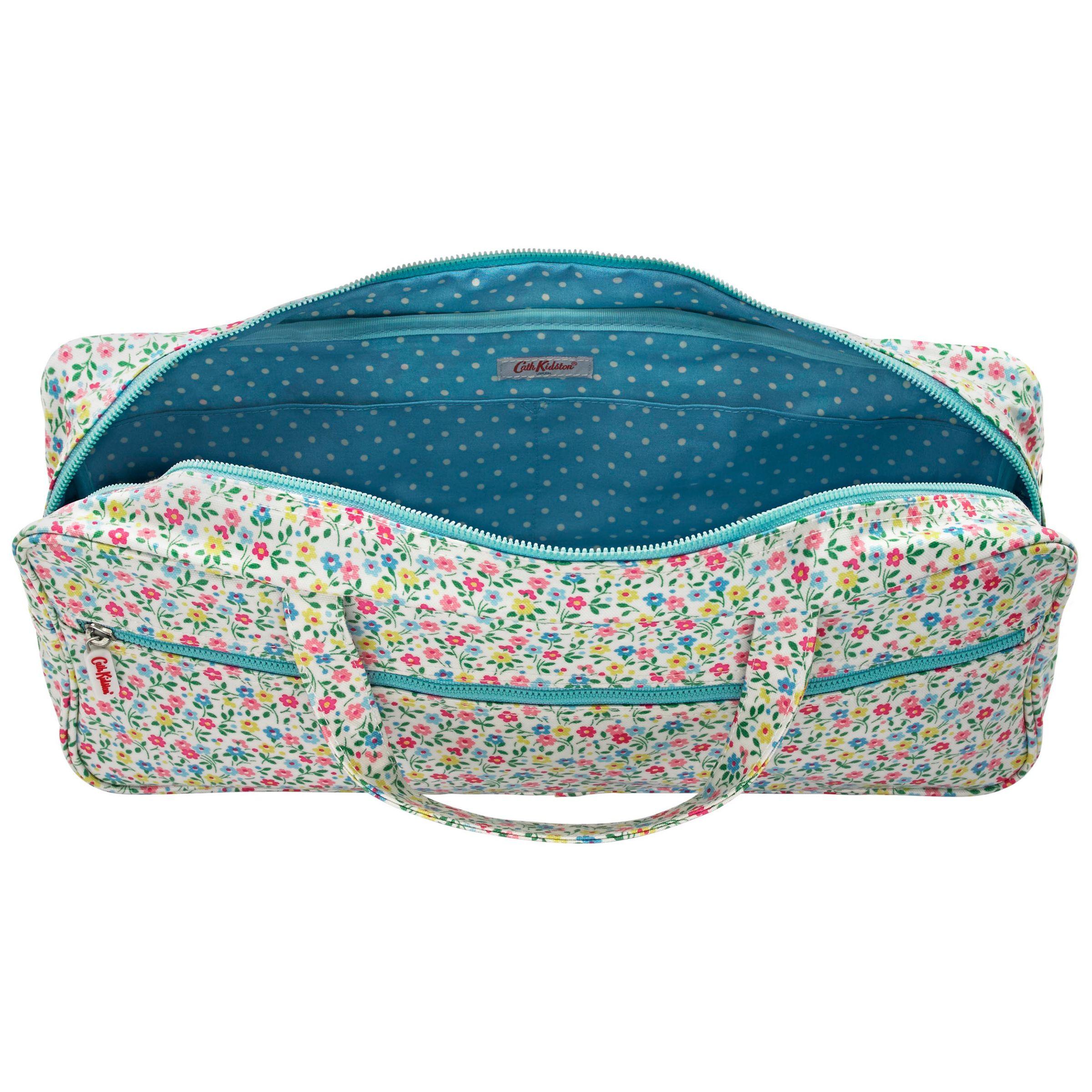 Buy Cath Kidston Trailing Daisy Floral Knitting Bag John Lewis