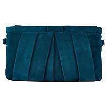 Buy Jacques Vert Suede Clutch Bag Online at johnlewis.com