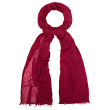 Buy White Stuff Dreaming Away Scarf, Apfel Pink Online at johnlewis.com