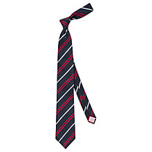 Buy Thomas Pink Barton Stripe Woven Silk Tie Online at johnlewis.com