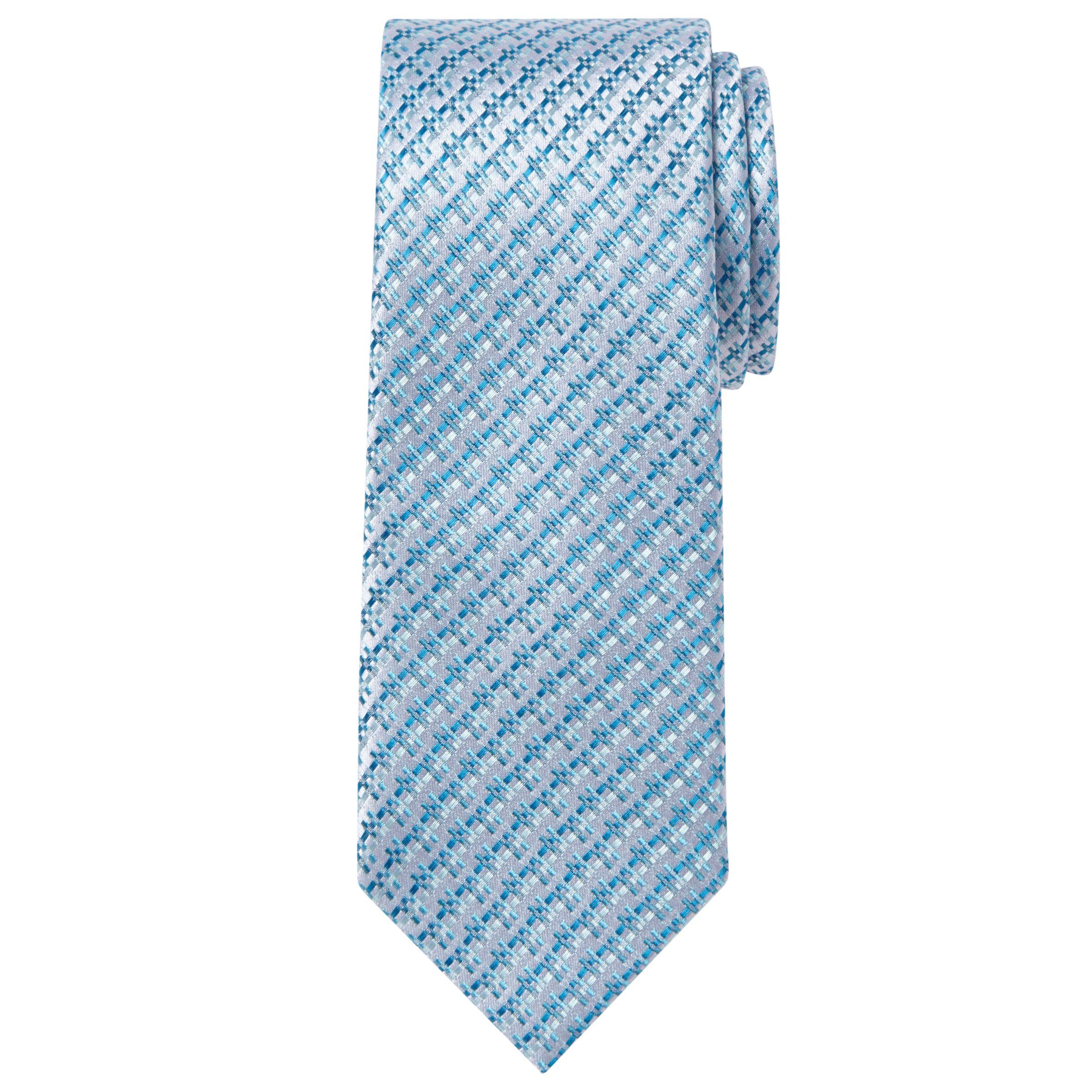 Richard James Mayfair Richard James Mayfair Dobby Silk Tie, Sky