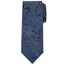 Buy Richard James Mayfair Fine Paisley Silk Tie Online at johnlewis.com