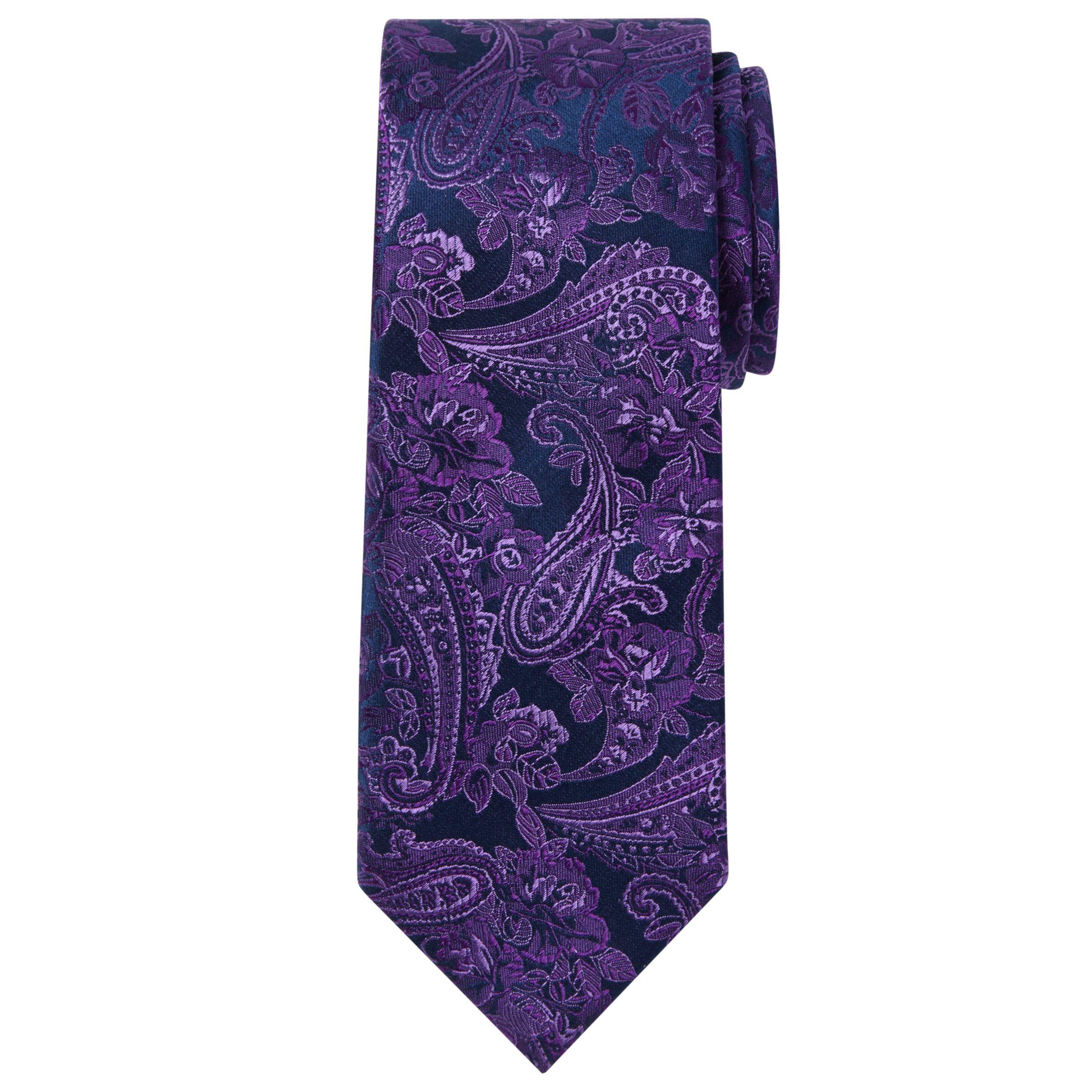 Richard James Mayfair Richard James Mayfair Fine Paisley Silk Tie