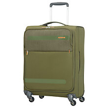 Buy American Tourister Herolite Lifestyle 4-Spinner Wheel 55cm Cabin Suitcase Online at johnlewis.com