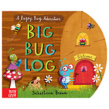 Buy Big Bug Log Children's Book Online at johnlewis.com