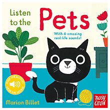 Buy Listen To The Pets Children's Book Online at johnlewis.com
