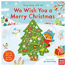 Buy Sing Along With Me! We Wish You A Merry Christmas Children's Book Online at johnlewis.com