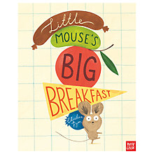 Buy Little Mouse Big Breakfast Children's Book Online at johnlewis.com