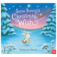 Buy Snow Bunny's Christmas Wish Children's Book Online at johnlewis.com