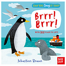 Buy Can You Say It Too? Brrr! Brrr! Children's Book Online at johnlewis.com
