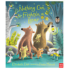 Buy Nothing Can Frighten A Bear Children's Book Online at johnlewis.com