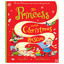 Buy The Princess To The Rescue Children's Book Online at johnlewis.com