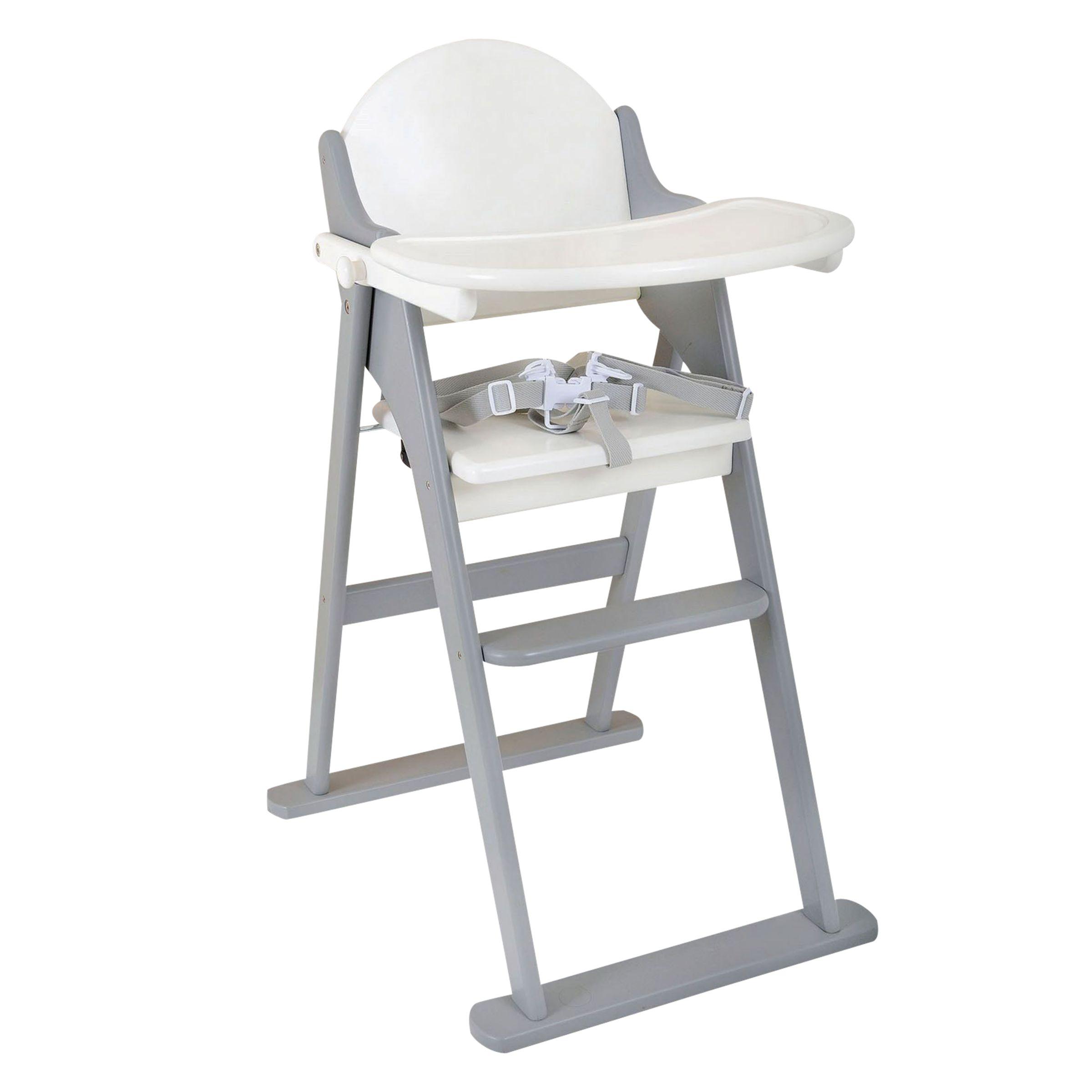 East Coast East Coast Folding Highchair, Grey/White