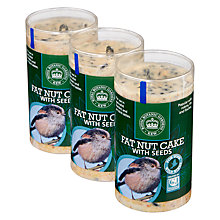 Buy CJ Wildlife Fat Nutcake With Seeds, Pack of 3 Online at johnlewis.com
