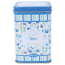 Buy Milly Green Garden Mint Tea In a Floral Tin, 75g Online at johnlewis.com