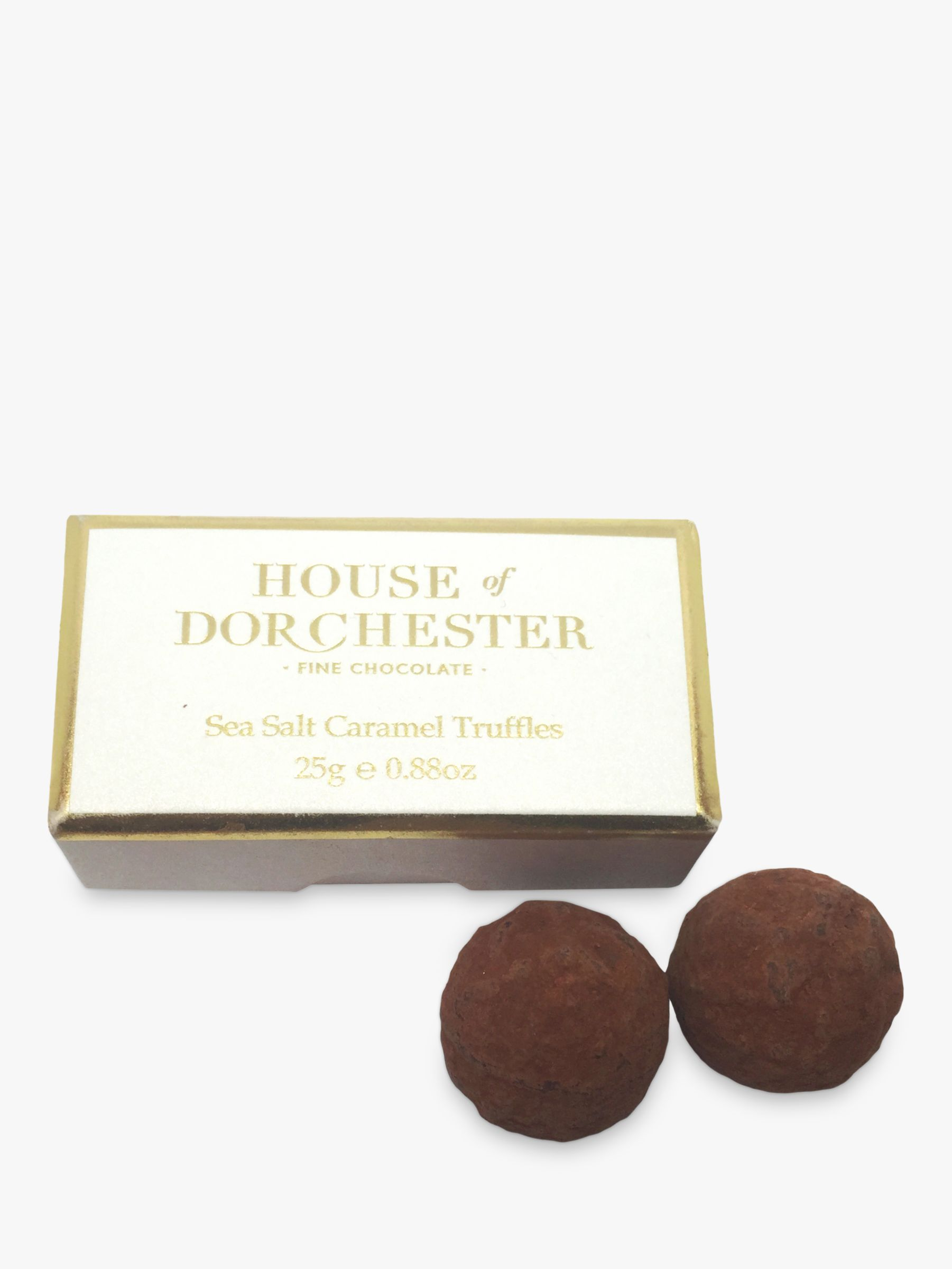 House of Dorchester House of Dorchester Seasalt Caramel Truffles, 25g