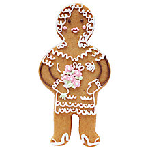 Buy Biscuiteers Gingerbread Bride, 15g Online at johnlewis.com