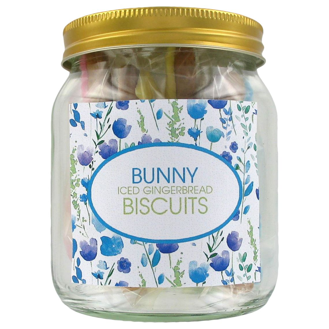Image on Food Image on Food Easter Bunny Iced Gingerbread Biscuits & Jar, 50g