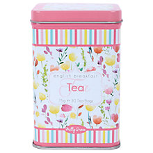 Buy Milly Green English Breakfast Tea In A Floral Tin, 75g Online at johnlewis.com