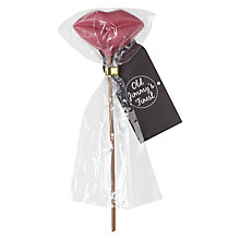 Buy Milk Chocolate Lips Lolly, Pink, 20g Online at johnlewis.com