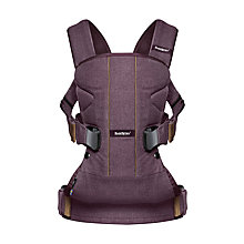 Buy BabyBjörn Woods Baby Carrier One Online at johnlewis.com