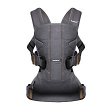 Buy BabyBjörn Baby Carrier One, Grey Denim Online at johnlewis.com