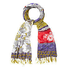 Buy White Stuff East To West Patchwork Scarf, Multi Online at johnlewis.com