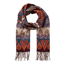 Buy East Jacquard Paisley Scarf Online at johnlewis.com