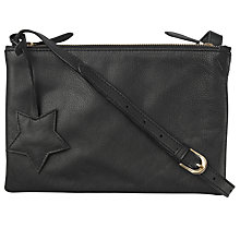 Buy hush Lorelei Cross Body Bag, Black Online at johnlewis.com
