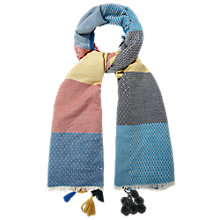 Buy White Stuff Winter Jacquard Scarf, Multi Online at johnlewis.com
