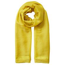 Buy East Silk Wool Scarf, Turmeric Online at johnlewis.com