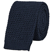 Buy Reiss Shaun Slim Knitted Silk Tie Online at johnlewis.com