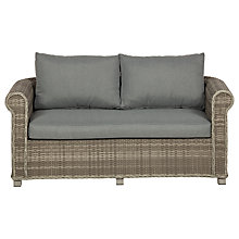 Buy Royalcraft Windsor Chunky 2 Seater Sofa, Grey Online at johnlewis.com
