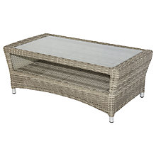 Buy Royalcraft Windsor Chunky Coffee Table, Grey Online at johnlewis.com