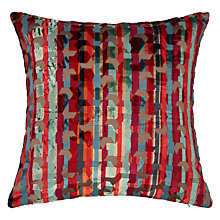 Buy John Lewis Ovolo Stripe Cushion, Multi Online at johnlewis.com