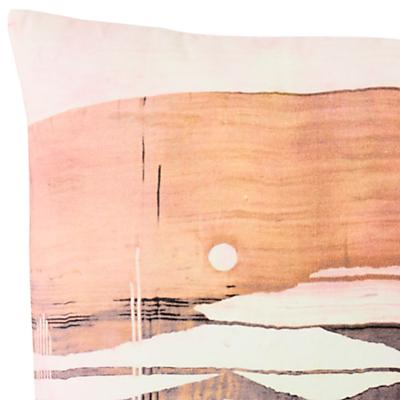 Image of west elm Desert Canyon Velvet Cushion, Cornflower Blue