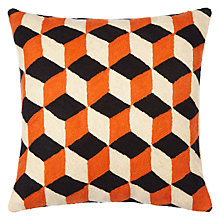 Buy House by John Lewis Cubes Cushion Online at johnlewis.com