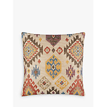 Buy John Lewis Kelim Ikat Cushion, Multi Online at johnlewis.com
