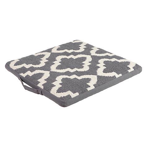 buy john lewis tayo seat pad john lewis. Black Bedroom Furniture Sets. Home Design Ideas
