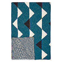 Buy John Lewis Scandi Triangles Throw, Spruce Online at johnlewis.com