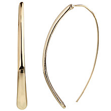 Buy John Lewis Long Curved Earrings Online at johnlewis.com