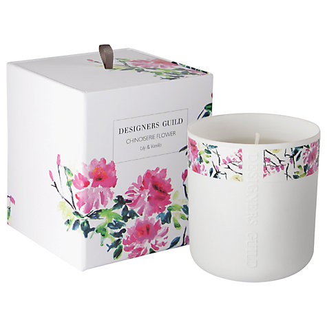 buy designers guild chinoiserie scented candle john lewis. Black Bedroom Furniture Sets. Home Design Ideas
